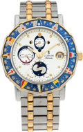 "Timepieces:Wristwatch, No Shipping into the U.S. - Corum Two Tone ""Admiral's Cup Tide Watch"". ..."