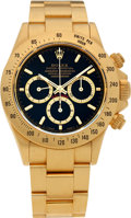 Timepieces:Wristwatch, No Shipping into the U.S. - Rolex Ref. 16528 Gold Oyster Perpetual Cosmograph Daytona, circa 1991. ...