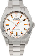 Timepieces:Wristwatch, No Shipping into the U.S. - Rolex Ref. 116400 Oyster PerpetualMilgauss, circa 2007. ...