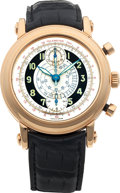 Timepieces:Wristwatch, No Shipping into the U.S. - Franck Muller Ref. 700 CCS 45 Rose GoldChronograph. ...
