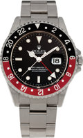 Timepieces:Wristwatch, No Shipping into the U.S. - Rolex Ref. 16710 GMT Master II, circa 1984. ...
