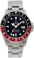 Timepieces:Wristwatch, No Shipping into the U.S. - Rolex Ref. 16710 Steel GMT Master II,circa 1997. ...