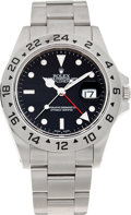 Timepieces:Wristwatch, No Shipping into the U.S. - Rolex Ref. 16570 Steel Explorer II, circa 2000. ...