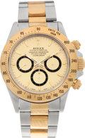 Timepieces:Wristwatch, No Shipping into the U.S. - Rolex Ref. 16523 Two Tone OysterPerpetual Cosmograph Daytona, circa 1991. ...