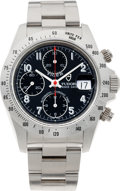 """Timepieces:Wristwatch, No Shipping into the U.S. - Tudor Ref. 79280 """"Tiger"""" Oyster Prince Date Automatic Chronograph, circa 2000. ..."""