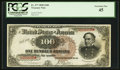 Large Size:Treasury Notes, Fr. 377 $100 1890 Treasury Note PCGS Extremely Fine 45.. ...