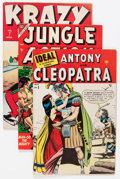 Golden Age (1938-1955):Miscellaneous, Timely/Atlas Golden Age Comics Group (Timely, 1943-57).... (Total: 8 Comic Books)