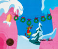 Animation Art:Production Cel, Dr. Seuss' How the Grinch Stole Christmas Production Cel Signed by Chuck Jones (MGM, 1966)....