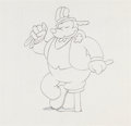 Animation Art:Production Drawing, Oswald the Lucky Rabbit Production Drawings (Walter Lantz Studios, 1930s).... (Total: 2 Items)