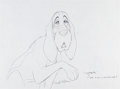 Animation Art:Production Drawing, The Fox and the Hound Copper Production Drawing (WaltDisney, 1981)....