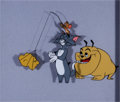 Animation Art:Production Cel, Tom and Jerry Production Cel Set-Up (MGM, 1960s)....