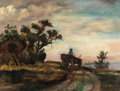 Texas:Early Texas Art - Impressionists, LOIS HOGUE SHAW (American, 1897-2001). Long Road Home,pre-1927. Oil on artists' board. 12 x 16 inches (30.5 x 40.6 cm)...