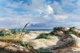 JOSÉ VIVES-ATSARA (Spanish/American, 1919-2004) Golf of Mexico, Padre Island, 1973 Oil on canvas 24 x 36 inches (...