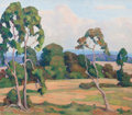 Paintings, FRED DARGE (American, 1900-1978). Afternoon Landscape. Oil on canvas. 15-1/4 x 17-1/2 inches (38.7 x 44.5 cm). Signed lo...