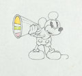 Animation Art:Production Drawing, Around the World in 80 Minutes Mickey Mouse ProductionDrawing (Walt Disney, 1931)....