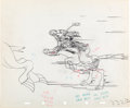Animation Art:Production Drawing, Mickey's Polo Team Production Drawing Group (Walt Disney,1936).... (Total: 4 Items)
