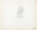 Animation Art:Production Drawing, Pinocchio Pinocchio as a Real Boy Production Drawing Group(Walt Disney, 1940).... (Total: 2 Items)