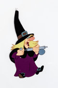Animation Art:Production Cel, Trick or Treat Witch Hazel Production Cel (Walt Disney,1952)....