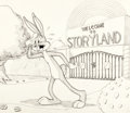 Animation Art:Production Drawing, Bugs Bunny in Storyland Bugs Bunny Illustration by RobertMcKimson (Warner Brothers, 1949)....