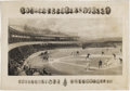 Baseball Collectibles:Others, Exceptional 1894 Temple Cup Print. Nineteeth century baseball'sartistic equivalent of the ceiling of the Sistine Chapel, th...