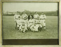 "Baseball Collectibles:Photos, 1909 Cleveland Baseball Reunion Cabinet Photograph. One of theearliest ""Old Timers"" events in Major League Baseball histor..."