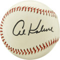 Autographs:Baseballs, Al Kaline Single Signed Baseball. Playing his major league careerwith the Detroit Tigers, Kaline was revered for his work ...