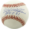 Autographs:Baseballs, Billy Williams Single Signed Baseball. Selected as the Rookie ofthe Year in 1961, Williams went on to a Hall of Fame caree...