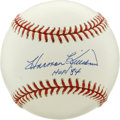 Autographs:Baseballs, Harmon Killebrew Single Signed Baseball. One of the most fearedpower hitters of the 1960's Killebrew hit 40 homers in a se...