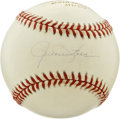 Autographs:Baseballs, Rollie Fingers Single Signed Baseball. Hall of Fame hurler RollieFingers confounded hitters with his pinpoint control out ...
