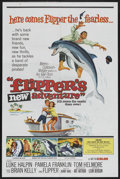 "Movie Posters:Adventure, Flipper's New Adventure (MGM, 1964). One Sheet (27"" X 41"").Adventure. ..."