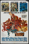"Movie Posters:War, The Dirty Dozen (MGM, 1967). One Sheet (27"" X 41""). War. ..."