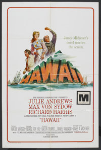 "Hawaii (United Artists, 1966). One Sheet (27"" X 41""). Drama"