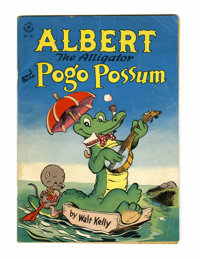 Four Color #105 Albert the Alligator and Pogo Possum (Dell, 1946) Condition: GD/VG