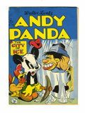 Golden Age (1938-1955):Funny Animal, Four Color #130 Andy Panda (Dell, 1946) Condition: FN+....
