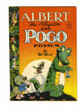 Golden Age (1938-1955):Funny Animal, Four Color #148 Albert the Alligator and Pogo Possum (Dell, 1947)Condition: FN+....