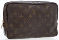 Luxury Accessories:Bags, Louis Vuitton Classic Monogram Canvas Cosmetic Case. ...