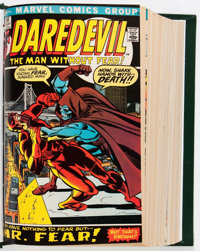 Sgt. Fury and His Howling Commandos/Daredevil Bound Volumes (Marvel, 1960s).... (Total: 2 )
