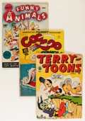Golden Age (1938-1955):Funny Animal, Miscellaneous Golden Age Funny Animal Group (Various Publishers,1940s-50s) Condition: Average GD-.... (Total: 37 Items)