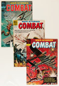 Silver Age (1956-1969):War, Combat File Copies Group (Dell, 1962-73) Condition: Average VF/NM.... (Total: 29 Items)