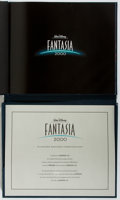 Books:Children's Books, [Disney]. LIMITED / SIGNED BY ROY DISNEY. Fantasia 2000.Limited edition program. Disney, 1999. Number 486 of 10...