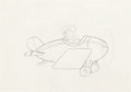Animation Art:Production Drawing, The Mail Pilot Mickey Mouse Production Drawing (Walt Disney,1933)....