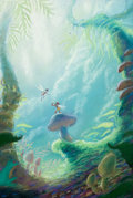 Animation Art:Concept Art, FernGully, The Last Rainforest Original Concept Illustration(Kroyer Films, 1992)....
