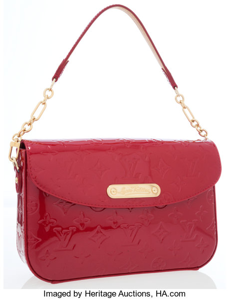 30c93bed297fd Louis Vuitton Red Monogram Vernis Sunset Boulevard