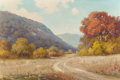 Texas:Early Texas Art - Regionalists, ROBERT WILLIAM WOOD (American, 1889-1979). Country Road. Oilon canvas. 26 x 39 inches (66.0 x 99.1 cm). Signed with art...