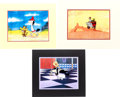 Animation Art:Production Cel, Quick Draw McGraw Production Cel Group (Hanna-Barbera,1959/70s).... (Total: 6 Items)
