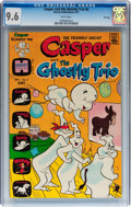 Bronze Age (1970-1979):Cartoon Character, Casper and the Ghostly Trio #6 File Copy (Harvey, 1973) CGC NM+ 9.6White pages....