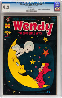 Wendy, the Good Little Witch #1 (Harvey, 1960) CGC NM- 9.2 Off-white pages