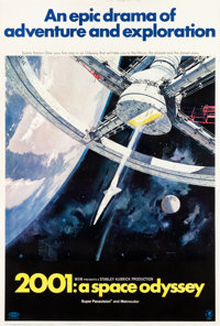 """2001: A Space Odyssey (MGM, 1968). Poster (40"""" X 60"""")"""