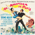 """Movie Posters:Musical, An American in Paris (MGM, 1951). Six Sheet (81"""" X 81"""").. ..."""