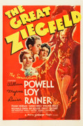"Movie Posters:Musical, The Great Ziegfeld (MGM, 1936). One Sheet (27"" X 41"") Style C.. ..."